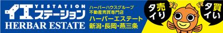 ハーバーエステート株式会社 ハーバーエステート株式会社 新潟県 新潟市中央区 会社ロゴ