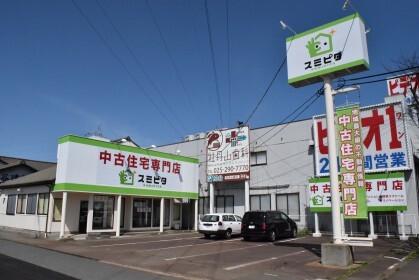 株式会社リアール 本店 新潟県 新潟市東区 店舗外観
