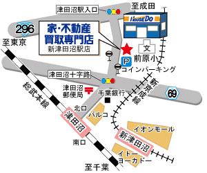 株式会社キャンドゥコーポレーション 株式会社キャンドゥコーポレーション 千葉県 船橋市 案内図